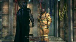 Batman Arkham Knight Chief Underhill The Line of Duty