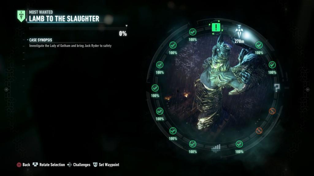 Batman Arkham Knight Lamb to the Slaughter