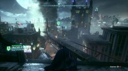 Batman Arkham Knight Locate Man Bat and Administer the Cure