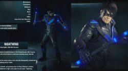 Batman Arkham Knight Nightwing Info and Bios