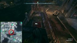 Final Militia Checkpoint in Founders' Island Batman Arkham Knight