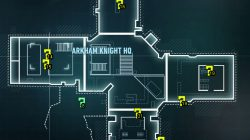 arkham knight hq building map