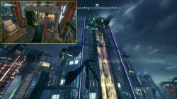 arkham knight hq entrance building