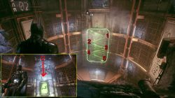arkham knight hq rolling puzzle