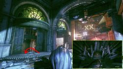 elevator riddler trophy arkham knight hq