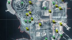 founders' island riddler trophy locations