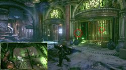 locked elevator puzzle riddler trophy arkham knight hq