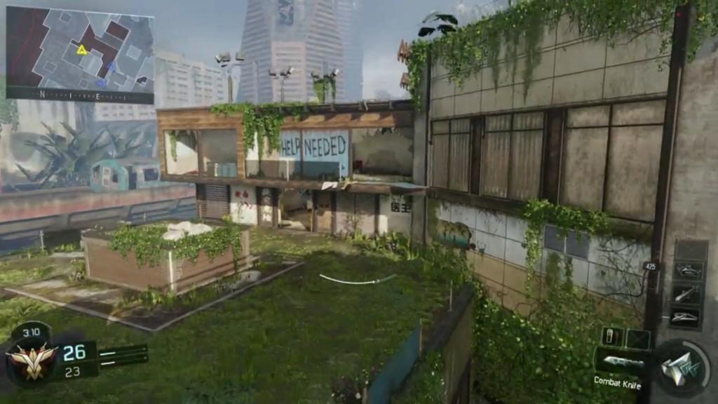 cod black ops 3 evac map beta