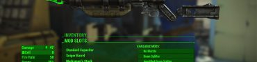 fallout 4 crafting optional