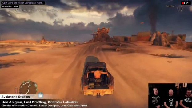 mad max gameplay footage one hour