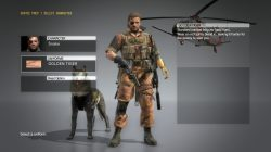 mgs5 golden tiger outfit