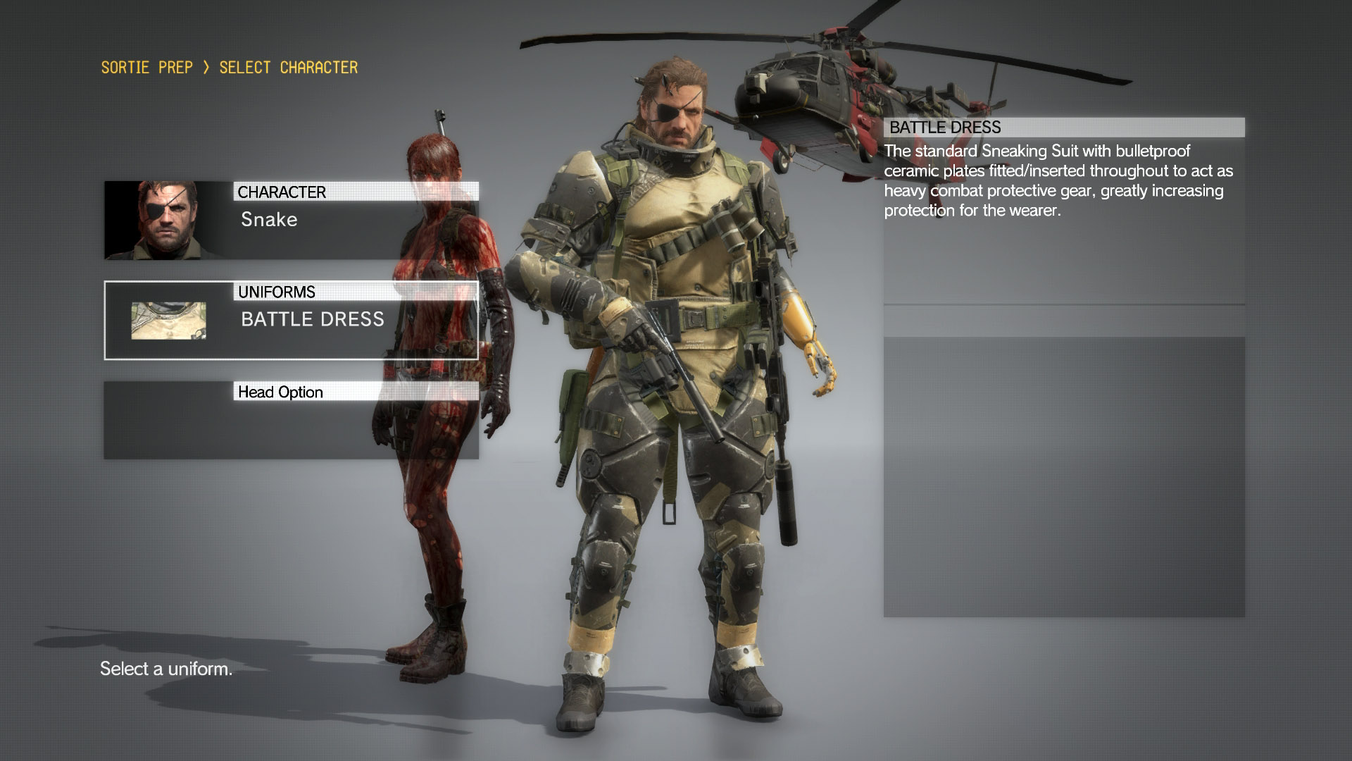 Snake Uniforms  MGSV: The Phantom Pain