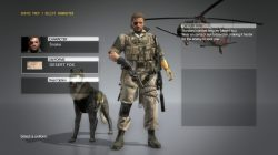mgs5 phantom pain desert fox costume