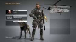 mgs5 snake uniform sneaking suit