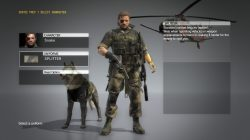 mgs5 snake uniform splitter