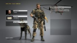 mgs5 uniform animals
