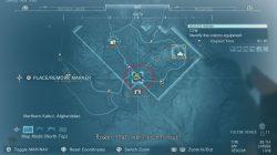 mgsv d dog location map