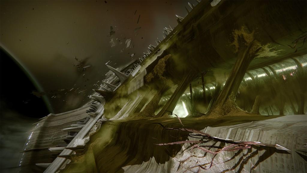 the taken king dreadnaught hive ship