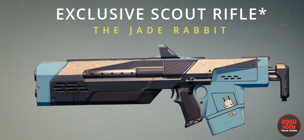 EXCLUSIVE SCOUT RIFLE THE JADE RABBIT