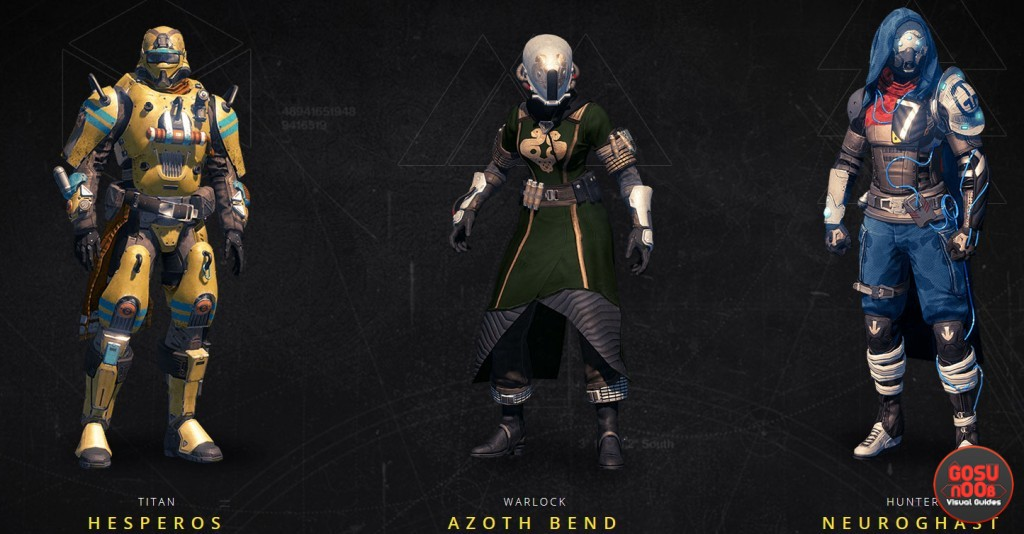 HESPEROS AZOTH-BEND NEUROGHAST gear sets