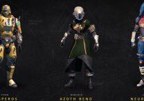 HESPEROS AZOTH-BEND NEUROGHAST gear sets