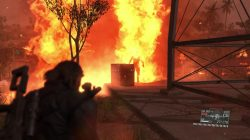 Metal Gear Solid TPP Voices Mission 20 Man on Fire