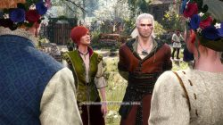 Hearts of Stone Geralt and Triss