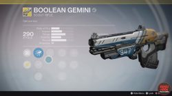 destiny taken king best weapons boolean gemini