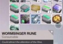 destiny wormsinger rune
