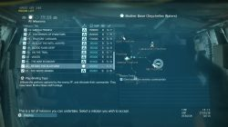 how to build fob in mgsv