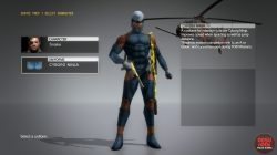 mgs5 cyborg ninja grey fox uniform