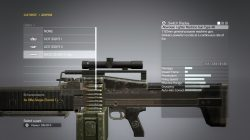 mgs5 how to customize weapons