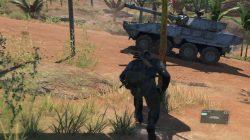 mgsv blood runs deep extract armored vehicle