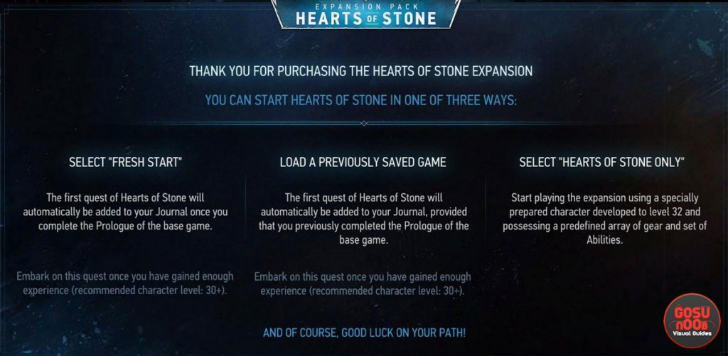 How to start Witcher 3 Hearts of Stone expansion quest