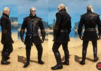 Witcher 3 New Moon Armor Set Look