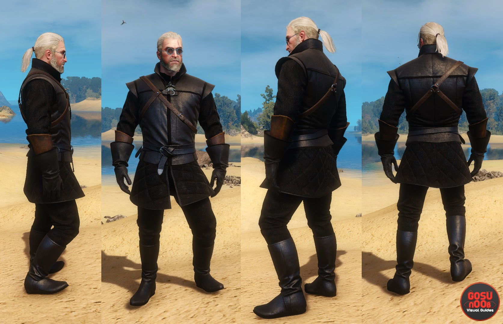 New Moon Armor Set The Witcher 3 Hearts Of Stone