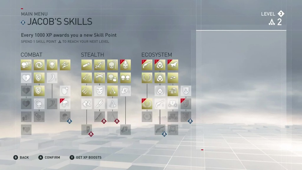 ac syndicate jacob evie skills