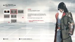 ac syndicate outfit gunslinger coat