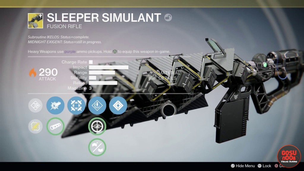 destiny taken king sleeper simulant