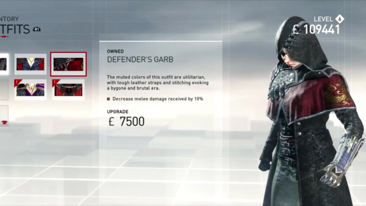 Evie S Outfits Ac Syndicate