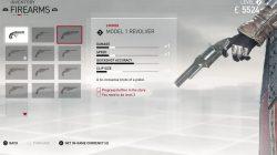 firearms model 1 revolver