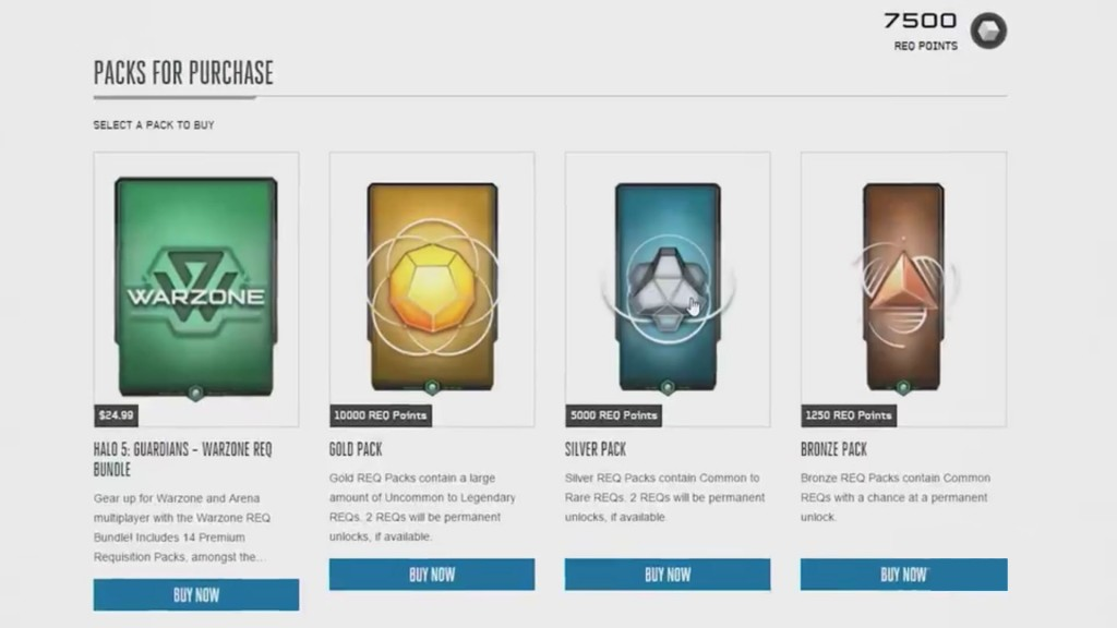 How To Get Free Req Packs In Halo 5 Guardians