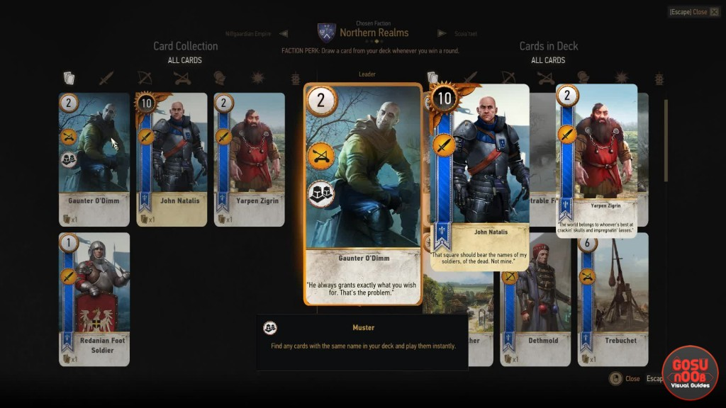 Hearts of Stone Gwent Cards | The Witcher 3
