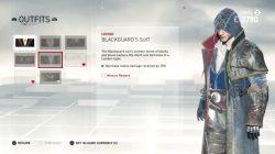 outfit blackguard's suit
