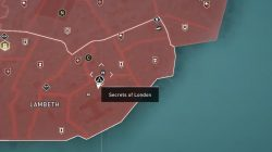 secret 5 lambeth map