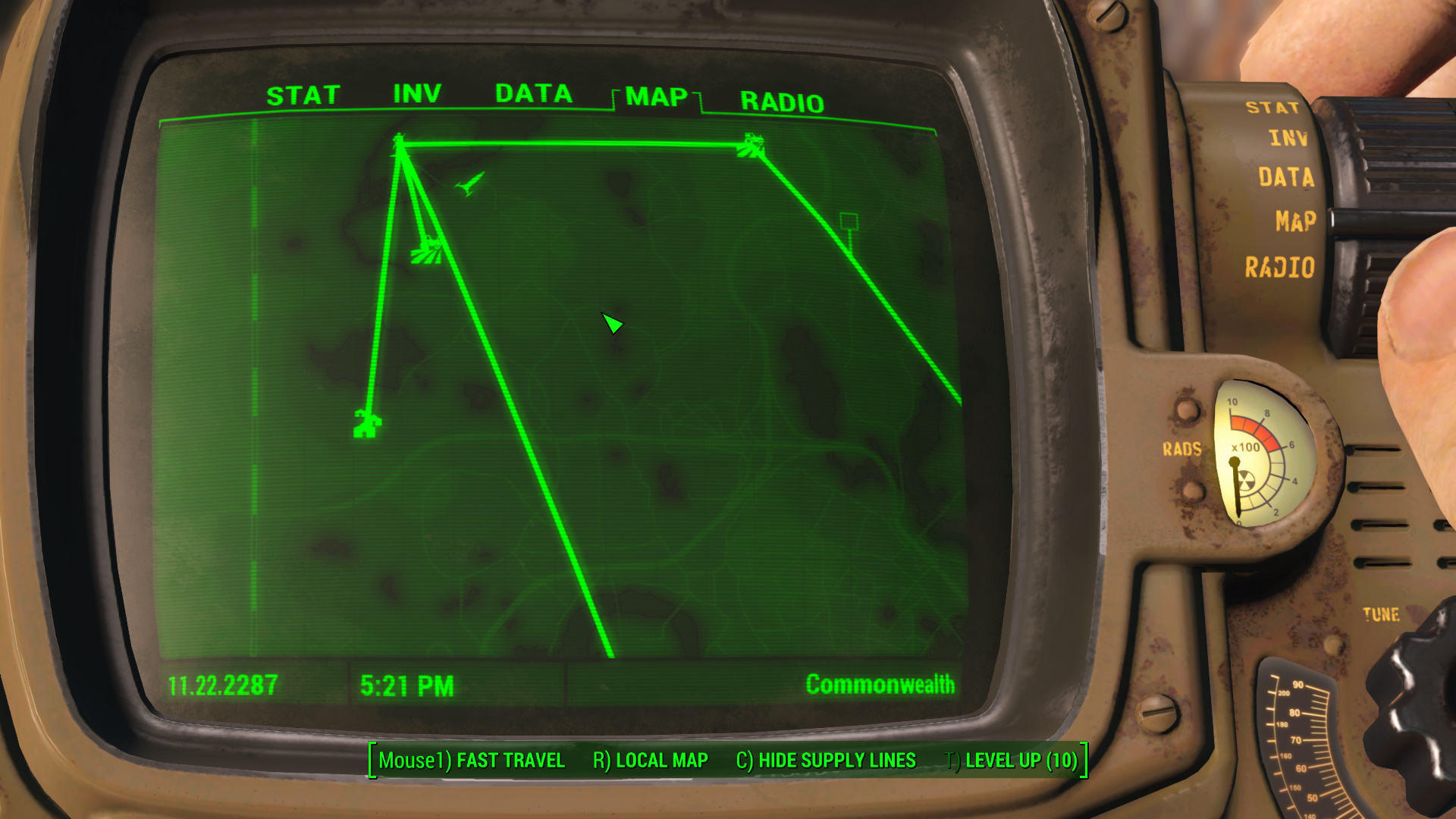 Fantastic How To Start Supply Lines And Move Settlers In Fallout 4 Unemploymentrelief Wooden Chair Designs For Living Room Unemploymentrelieforg
