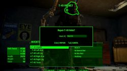 How to repair Power Armor