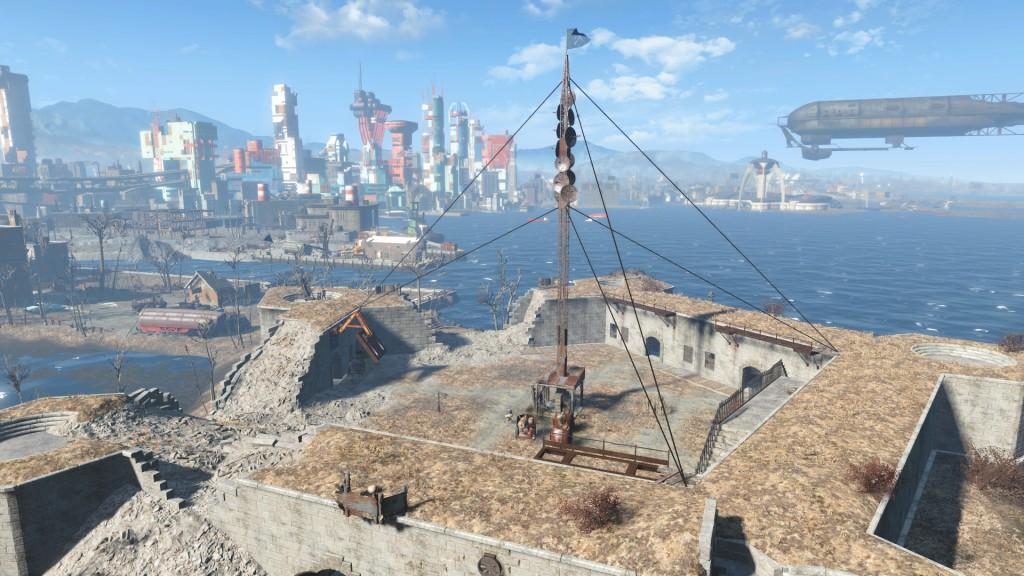 Minutemen the Castle Fallout 4
