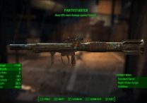 Partystarter unique weapon-fallout-4