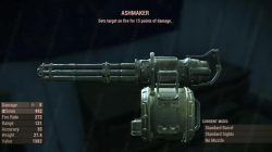 ashmaker best weapon fallout 4